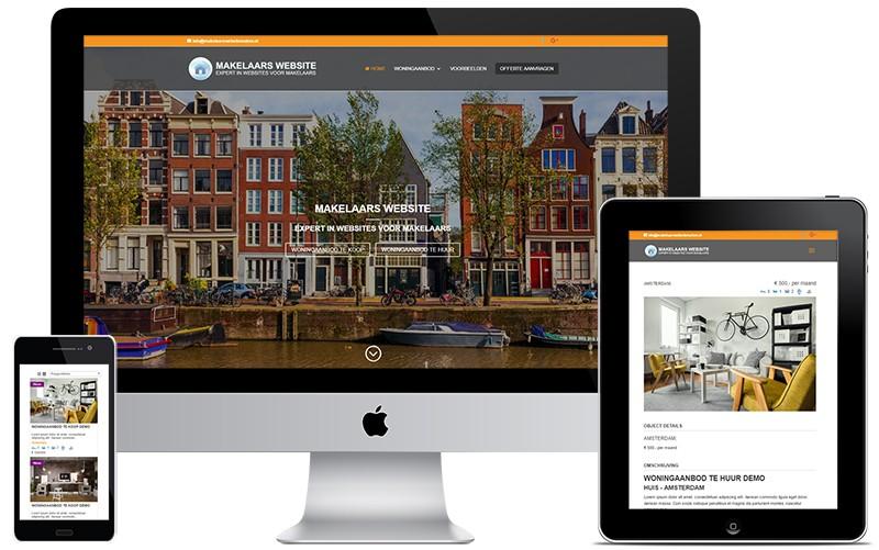 Makelaars website maken - Expert in websites voor makelaars